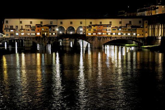 ponte vecchio di notte - Firenze (447 clic)