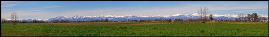 panoramica sulla pianura padana - Crema (891 clic)