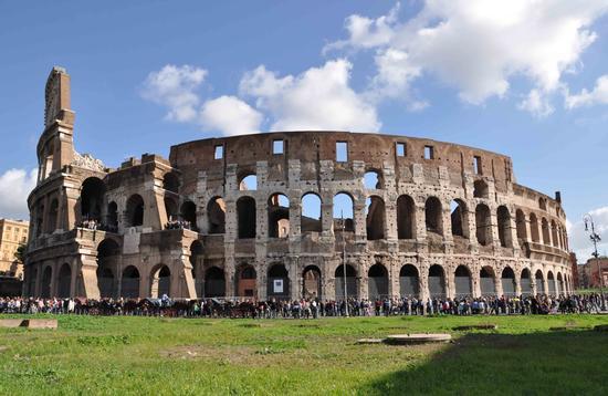 Il Colosseo - Roma (1694 clic)