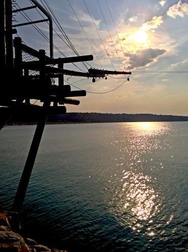 tramonto dal trabocco - Vasto (838 clic)