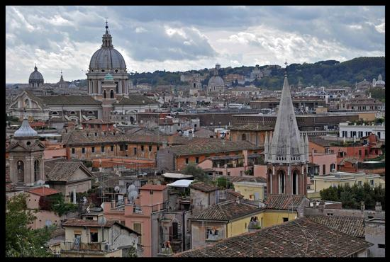 Roma dal Pincio (1121 clic)