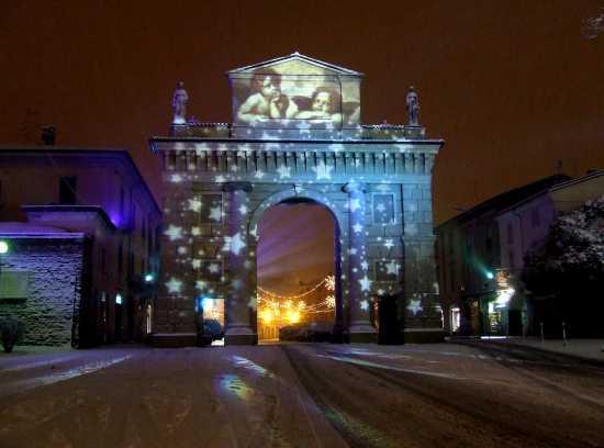 Porta Serio, Natale 2009   CREMA   Fotografia di Luca Bertolotti
