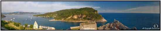 Portovenere in panoramica (2008 clic)