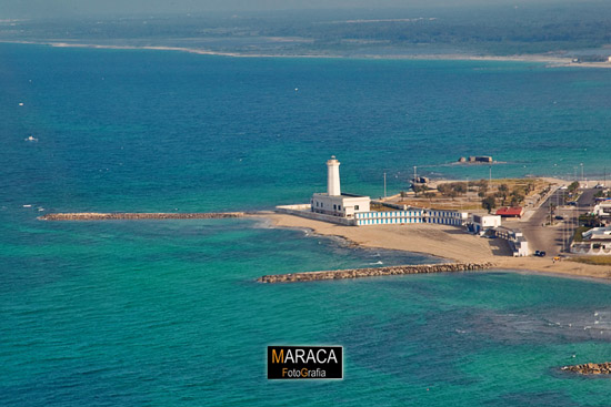 Marina leccese, spiaggia di  San Cataldo di Lecce (10745 clic)