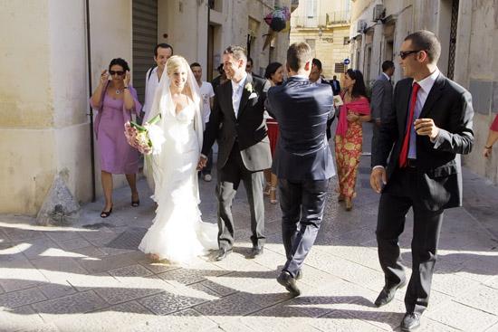 Lecce, foto reportage matrimonio, sposo e sposa , centro storico Lecce, Studio foto  video Maraca Fotografia Lecce (6966 clic)
