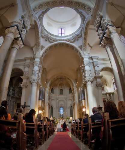Matrimonio a Lecce,foto  cerimonia nuziale, Basilica Santa Croce Lecce,  fantastica cornice per matrimoni Lecce, Studio fotografico MARACA FotoGrafia Lecce (6343 clic)