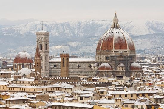 Neve, succede a Firenze (943 clic)