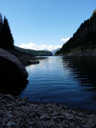 Lago di Paneveggio - Lago di Fortebuso (2288 clic)