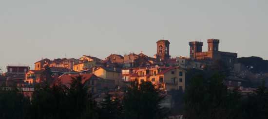 La sera sù Rocca Priora (2209 clic)