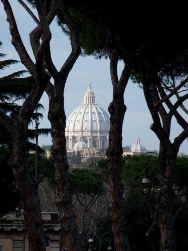 Il Cupolone da l Circo Massimo - Roma (2281 clic)