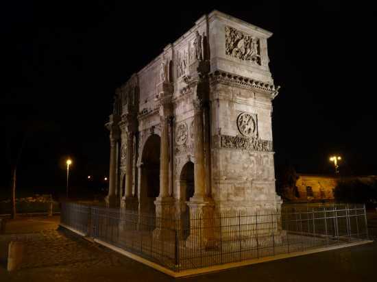 Arco di Costantino - Roma (4236 clic)