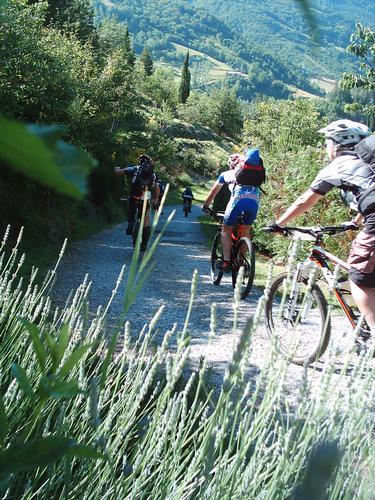 Cara Bicicletta sei tornata di moda .. e per i tornati del Mugello Fiorentino ogni contado ti saluta col cuore in una marea di verde e area frizzante..e qui a Marradi al CASTELLONE è gran gioia..alla  (1770 clic)