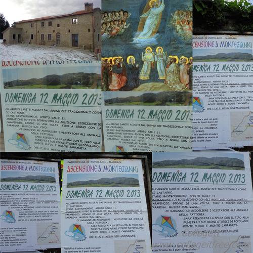 Domenica 12 Maggio 2013   PARROCCHIA DI POPOLANO – MARRADI  ASCENSIONE A MONTEGIANNI ALL'ARRIVO ACCOGLIENZA DAL SUONO DEI TRADIZIONALI CORNI DI CASTAGNO,STAND GASTRONOMICO, APERTO DALLE 11.. (1288 clic)
