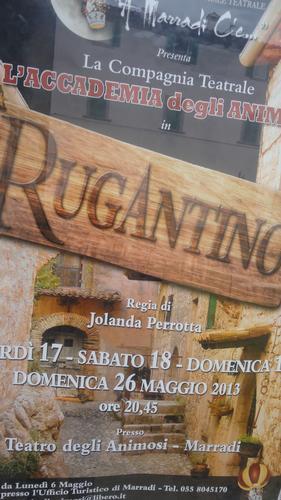 Per il  Maggio Teatrale della Romagna Toscana L'Associazione Culturale Teatrale A MARRADI C'E' presenta la Compagnia Teatrale L'Accademia degli Animosi in RUGANTINO Regia di Jolanda Perrotta ..</title (1020 clic)