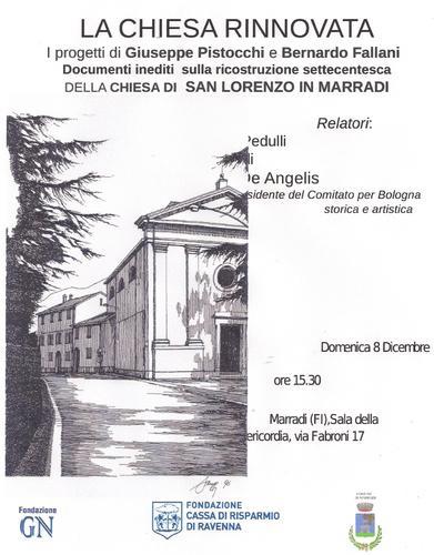 La Chiesa Arcipretale SAN LORENZO di Marradi(FI) una Storia che ha radici Romaniche: Di origine romanica, l'attuale edificio è stato radicalmente ricostruito in forme neoclassiche nel 1785. Alla semp< - MARRADI - inserita il 09-Dec-13