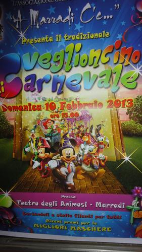 Veglioncino di Carnevale..GRANDE FESTA ..è IL GIORNO DEI BIMBI..al Teatro ANIMOSI di Marradi(FI) Fiore all'Occhiello della Romagna Granducale (1451 clic)