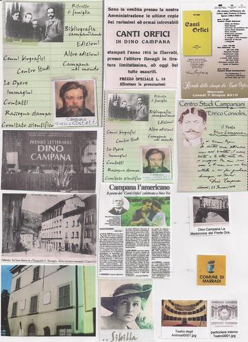 Dino Campana 14 attimi fuggenti di una leggenda poetica - Marradi (2304 clic)