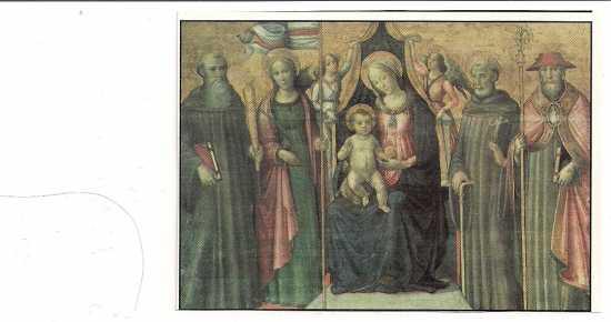 Marradi(FI) Pala di Santa Reparata di ignoto (2646 clic)