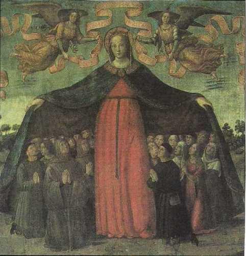 Marradi(FI):Madonna della Misericordia Maestro da Marradi (5264 clic)