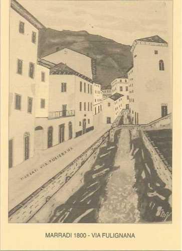 Marradi 1800  via Fulignana ora Fabroni (2495 clic)