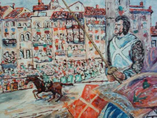 La Arte per un turista di ritorno relax a Marradi(FI)4° foto di 4   (1860 clic)