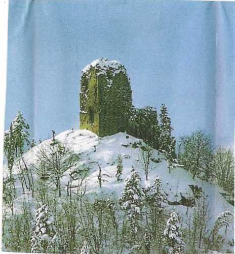 Rocca di inverno - Marradi (2623 clic)