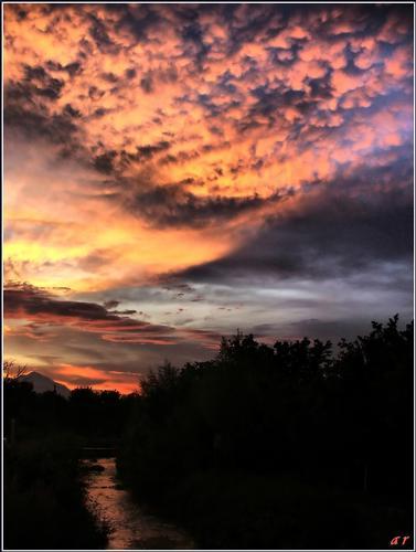 Un tramonto - Serino (1705 clic)