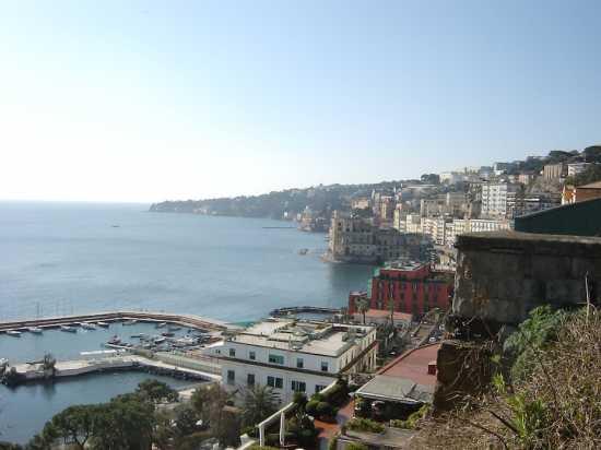 Panorama di Napoli con Porticciuolo di Mergellina (4705 clic)