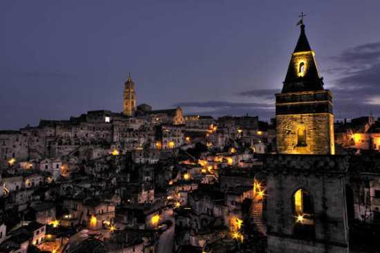 la citta piý bella del mondo: Sassi di Matera (6641 clic)