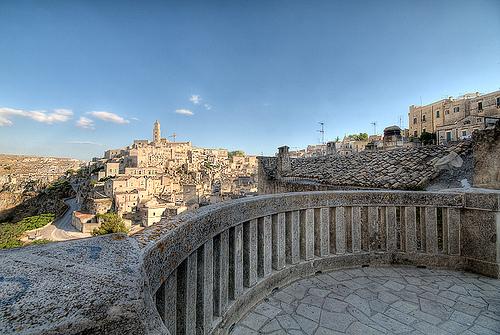 la citta più bella del mondo: Sassi di Matera (4478 clic)