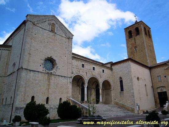 Cattedrale di San Leopardo - Osimo (1997 clic)