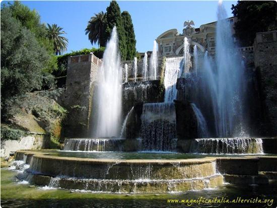 Lo spettacolo di Villa d'Este, Fontane del Nettuno e dell' Organo - Tivoli (4399 clic)