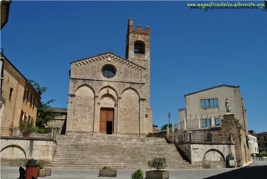 Basilica di Sant'Agata - Asciano (1954 clic)