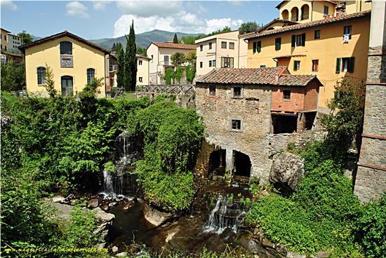 Il borgo e il vecchio mulino - Loro ciuffenna (3020 clic)