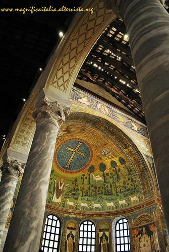 L'abside della Basilica di S.Apollinare - Classe (4383 clic)