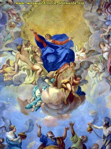 Affresco all' interno della Basilica del Monte - Cesena (2202 clic)