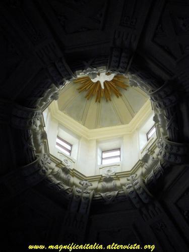 Interno Cupola Chiesa del  Suffragio - Cesena (2988 clic)