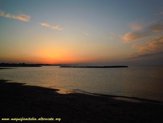 Tramonto sull'Adriatico - Rimini (4107 clic)