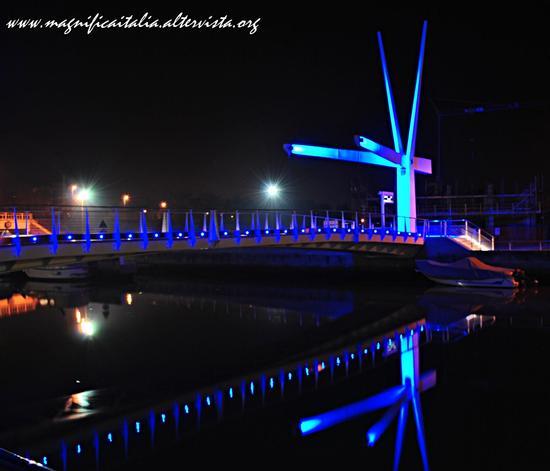 Bellaria by night, il ponte delle fiabe... (2629 clic)