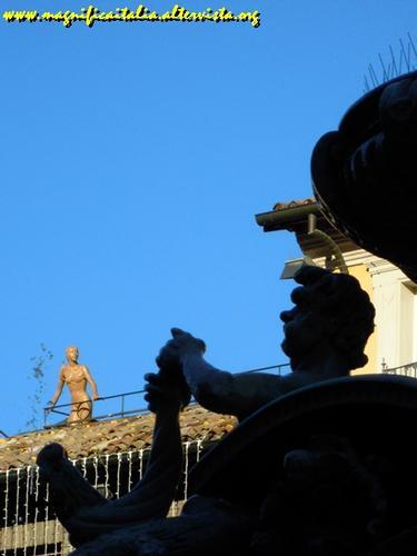 Ombre sulla Fontana Masini - Cesena (2730 clic)