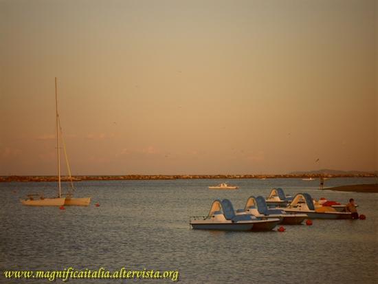 Tramonto sull'Adriatico - Gatteo a mare (1629 clic)