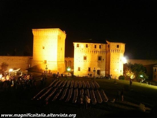 Rocca Malatesiana by night - Cesena (2511 clic)