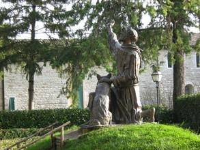 San Francesco e il lupo - Gubbio (4232 clic)
