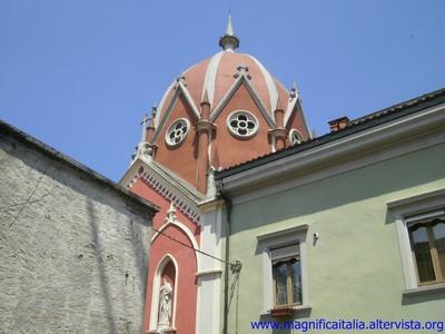 Cupola neogotica dell'ex seminario - Sarsina (2506 clic)