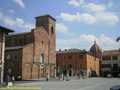 La Cattedrale di San Vicinio in Piazza Plauto - Sarsina (2594 clic)