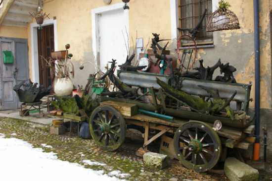 Dulzago Via Francigena - Novara (1931 clic)