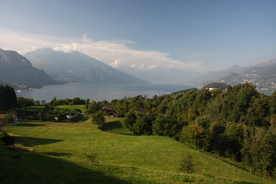 Veduta dell'Alto Lago - Bellagio (2110 clic)