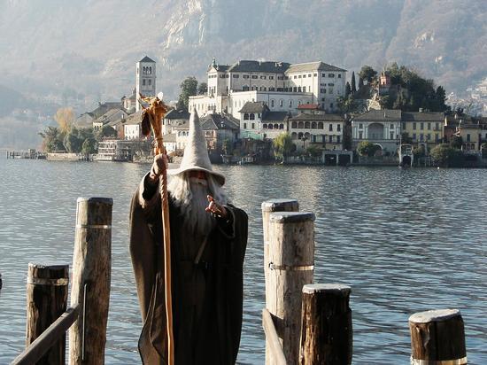 Gandalf a Orta San Giulio, inverno 2006 (2281 clic)