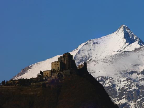 Sacra di San Michele e il Rocciamelone - Sant'ambrogio di torino (1325 clic)