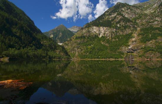 Lago di Antrona e diga di Campliccioli, agosto 2013 - Antrona schieranco (1175 clic)
